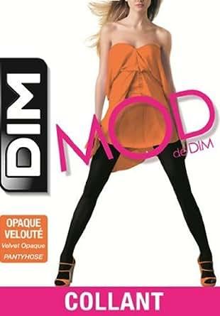 Dim Mod Opaque Velouté - Collants - 40 deniers -  Femme - Noir - 1/2