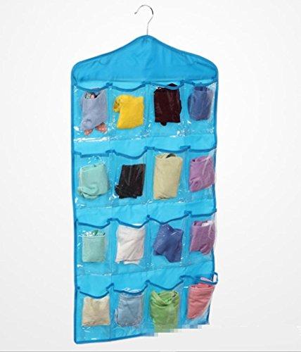 GYMNLJY Della famiglia elementi Oxford panno biancheria intima calze deposito borse Scarpa Storage bag . blue