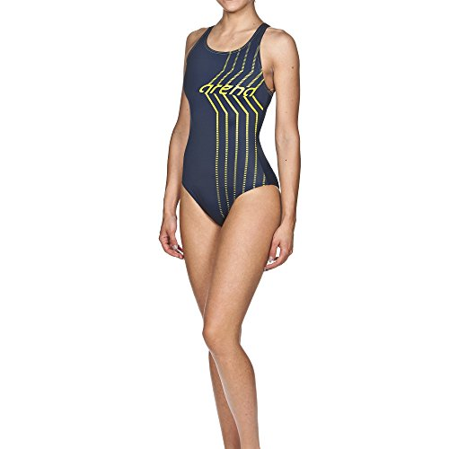Arena costume da bagno da donna Oster Land Blu navy/Soft green 42
