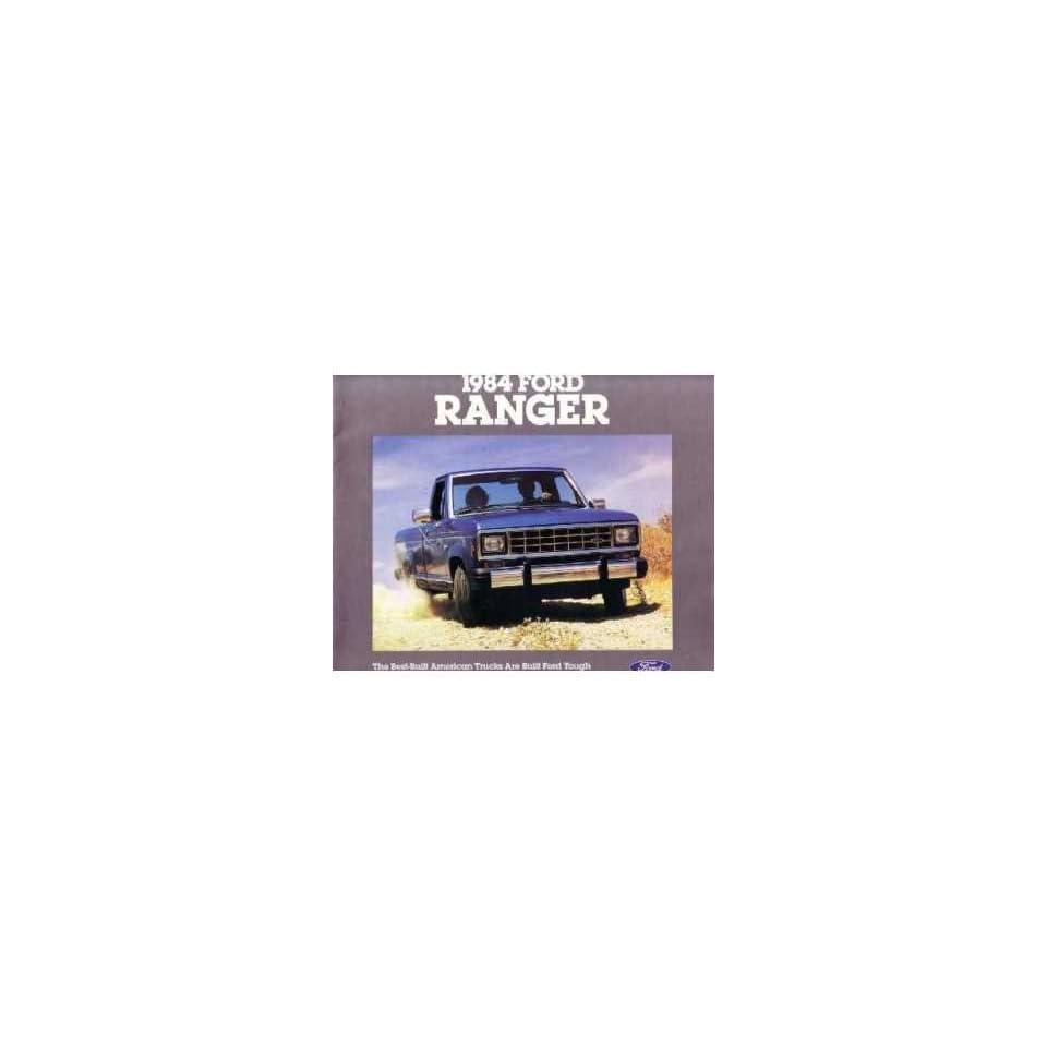 1984 Ford Ranger Sales Brochure Literature Piece Advertisement Specifications