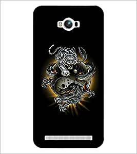 PrintDhaba Abstract Image D-4623 Back Case Cover for ASUS ZENFONE MAX ZC550KL (Multi-Coloured)