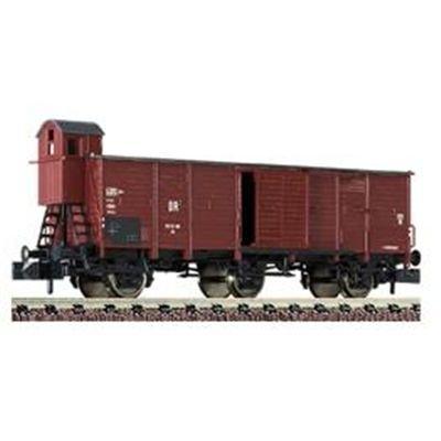 Fleischmann piccolo 8731 - Gedeckter Güterwagen mit Bremserhaus, Bauart Gh der DR