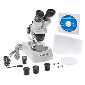 amscope se306r pz e 20x 40x 80x digital binocular stereo microscope. Black Bedroom Furniture Sets. Home Design Ideas