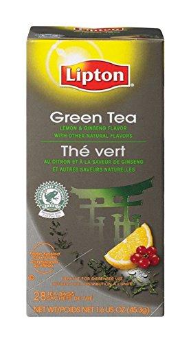 Lipton Green Tea W/Lemon Ginseng