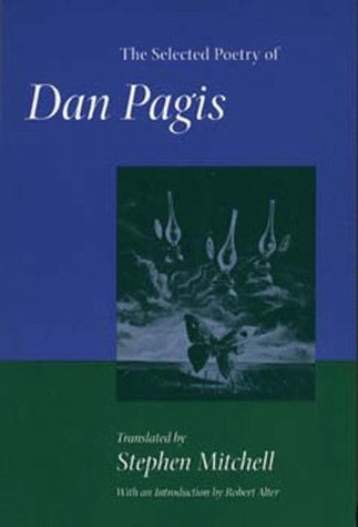 The Selected Poetry of Dan Pagis (Literature of the...