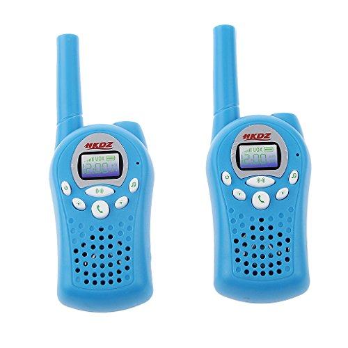 2pcs Talkie Walkie à 2-ways Radio Longue Distance Enfants Jouet électronique 1km Gamme Interphone #1