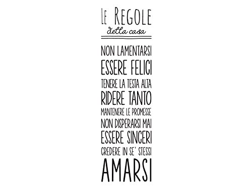 dudecor-regole-casa-sticker-decorativo-pvc-nero
