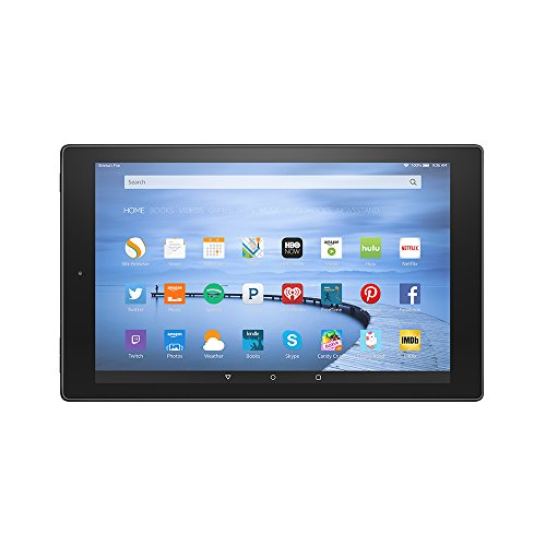 "Fire HD 10, 10.1"" HD Display, Wi-Fi, 16 GB - Includes Special Offers, Black"
