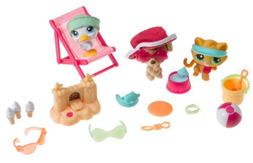Buy Littlest Pet Shop Seaside Celebration Playset