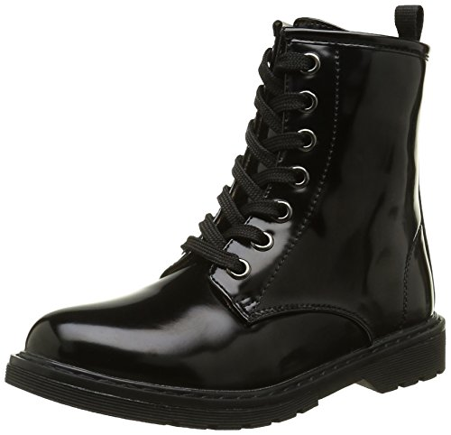 ASSOAnfibio - Stivali da motociclista alla  caviglia Bambina , nero (nero), 38 EU
