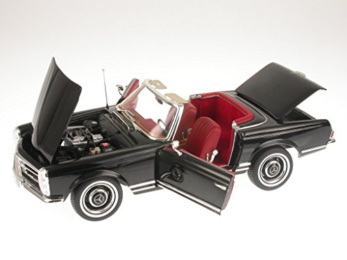 Noreve Mercedes R113 230 SL Pagode schwarz Modellauto 183517 Norev 1:18