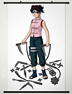 Home Decor Anime Naruto Cosplay Wall Scroll Poster Tenten 23.6 X 35.4 Inches- A334