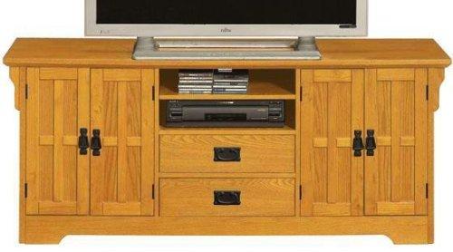 Cheap Craftsman 4 door Wide screen Tv Stand (B001XZOMLO)