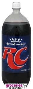 RC Cola, 2-Liter (Pack of 6)