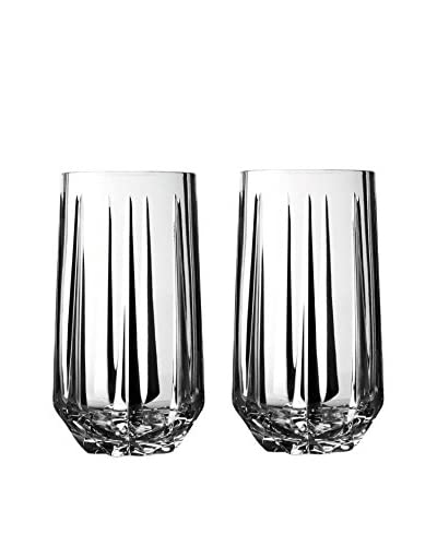 Wedgwood Vera Wang Peplum Set of 2 Highball Glasses