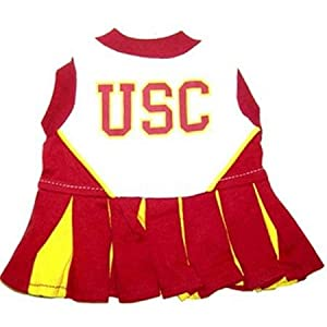 Pets First USCCLO-XS USC Trojans Cheer Leading XS by Pets First