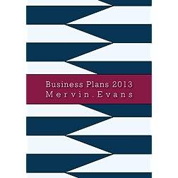 Business Plans 2013
