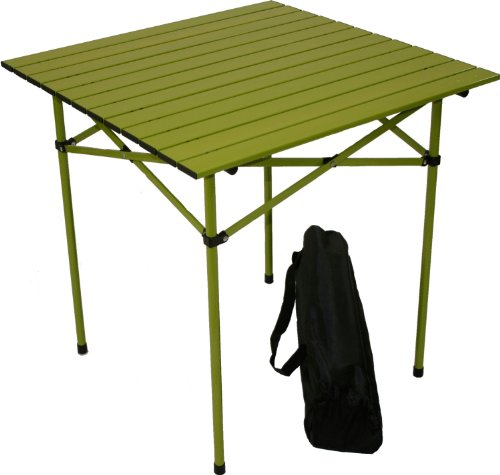 Table in a Bag TA2727G Tall Aluminum Portable Table with Carrying Bag, Green (Cooking Bench compare prices)