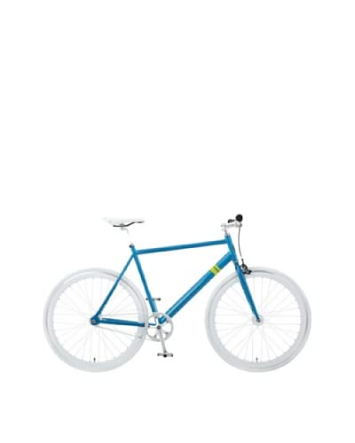 Solé Bicycles The Zissou Single Speed Bicycle, Aqua Blue/White, 55 cm/Large (5'8-6'0)