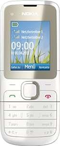 """Nokia C2-00 - Móvil libre (pantalla de 1,8"""") color blanco [importado de Alemania]"""
