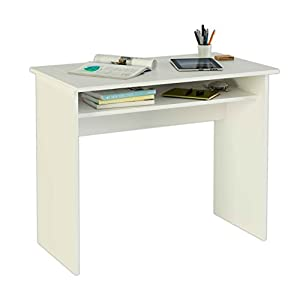 Meka-Block K-9465B - Computer desk, 90 cm wide, colour white.