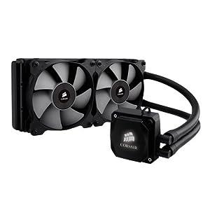 Corsair Hydro Series H100i All-In-One 240mm Digital High Performance Rad Liquid Cooler for CPU