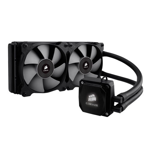 Corsair Hydro Series Extreme Performance Liquid CPU Cooler H100i (H100 Water Cooler compare prices)