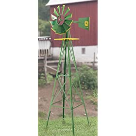 Licensed John Deere® Steel Windmill