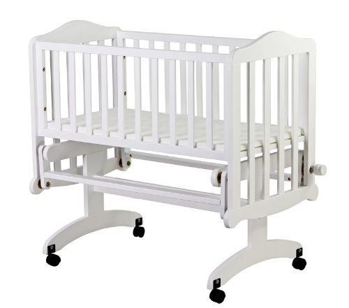 Dream On Me Lullaby Cradle Glider, White - 1