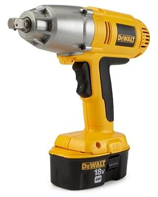 DEWALT DW059K-2 18-Volt NiCad 1/2-inch Cordless Impact Wrench Kit