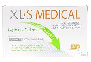 XLS Medical Capteur de Graisses 120 Comprimés