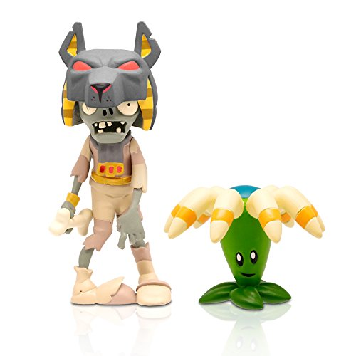"Zoofy International 3"" Tomb Raiser Zombie Action Figure with Bloomerang"
