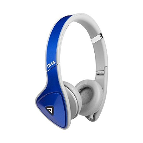 Monster Dna On-Ear Headphones (Cobalt Blue With Light Gray)