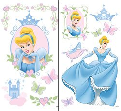 Disney Cinderella Wall Stickers #2