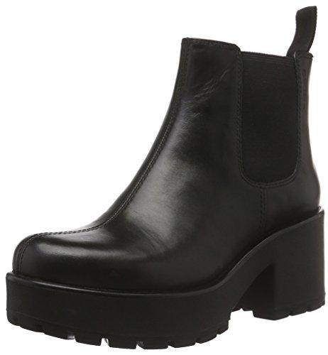 VagabondDioon - Stivali bassi con imbottitura leggera Donna , Nero (Schwarz (20 Black)), 38