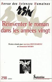 Revue des sciences humaines n 298 2 2010 r inventer for Revue sciences humaines