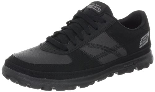 Skechers on the GOÂ Overcome Trainers Women black Schwarz (BBK) Size: 7 (41 EU)