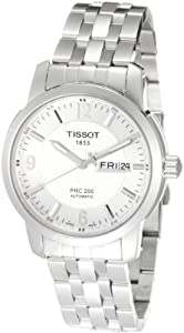Tissot PRC 200 Automatic Bracelet Silver Dial Men's Watch #T014.430.11.037.00