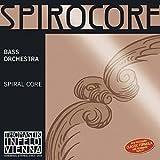 Thomastik-Infeld Spirocore 3/4 Upright Double Bass D String - Medium Gauge - Chromesteel Wound Flexible Spiral Steel Core