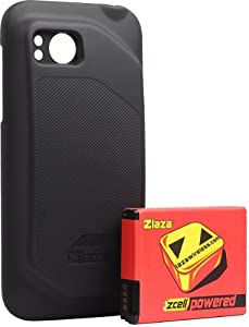 Laza Zcell 3240mah HTC Rezound 4G Extended Battery + Back Cover