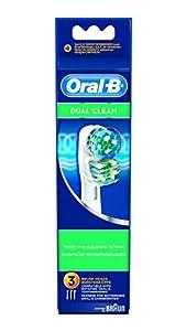 Oral-B Dual Clean EB417 - Cabezal de recambio 3 unidades