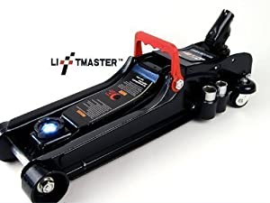 Liftmaster 2.25 Ton Multifunction Low Entry Profile Trolley Jack with LED