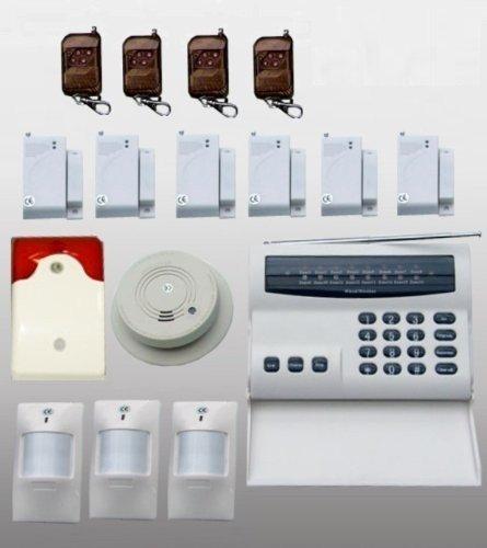 funk alarmanlage 16 zonen komplettsystem aefaefhpqe. Black Bedroom Furniture Sets. Home Design Ideas