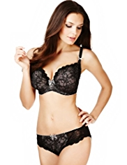Limited Collection Floral Lace Plunge Non-Padded GG-J Bra
