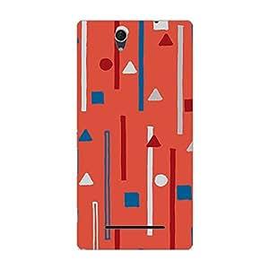 Garmor Designer Silicone Back Cover For Sony Xperia C3