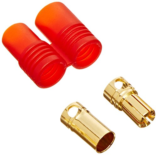 Graupner 6mm Gold Connector 2 Pair