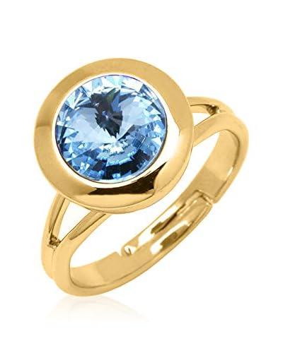 Swarovski Elements by Philippa Gold Anello Oneone Dot Ring [Metallo Dorato]