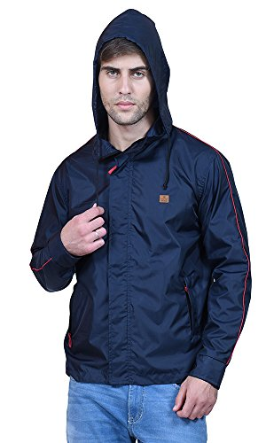 FOREST-CLUB-Gymwear-Reversible-Blue-Hooded-Mens-Track-Jackets