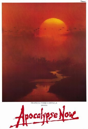 Unframed poster Apocalypse Now Movie Italian Marlon Brando Martin Sheen Robert Duvall Frederic Forrest27x40inch(69x102cm)