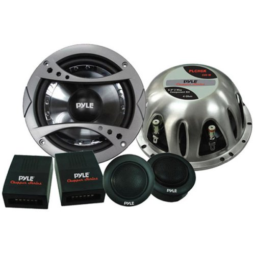 """6.5"""" 2-Way Component Speaker System W/Magnet Concealed (Pair)"""